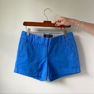 J.Crew Blue Chino Shorts